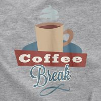 Camiseta café break