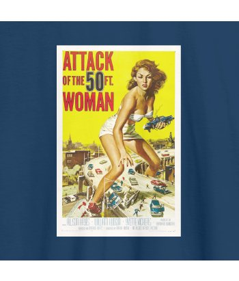 Camiseta poster attack woman