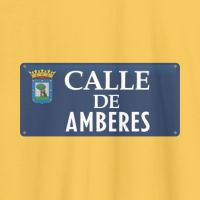 Camiseta personalizable calle de Madrid