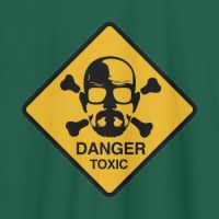 Camiseta Breaking Bad danger