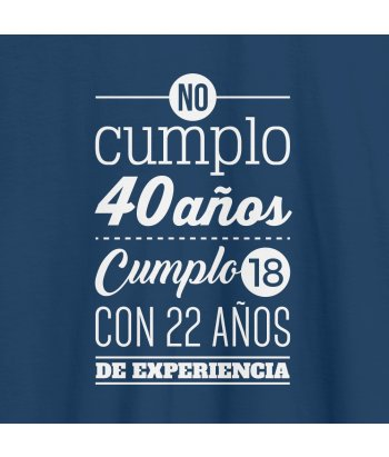 Camiseta personalizable  No cumplo
