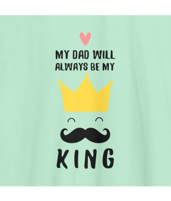 Camiseta día del padre Father King