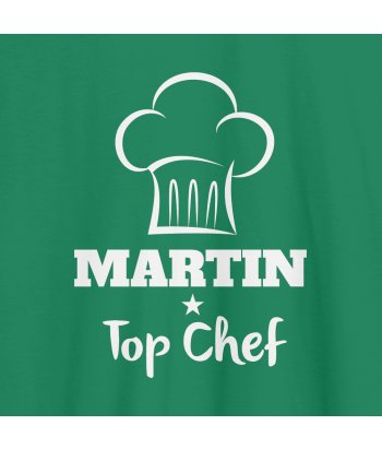 Camiseta personalizable Top Chef