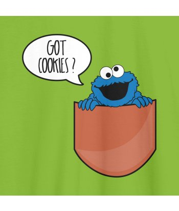 Camiseta bolsillo Got cookies?