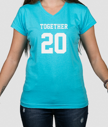 T-shirt personaliseerbaar together