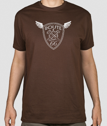 T-shirt Route 66 logo