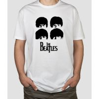 Camiseta The Beatles cabezas