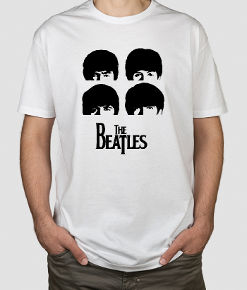 T-shirt teste Beatles