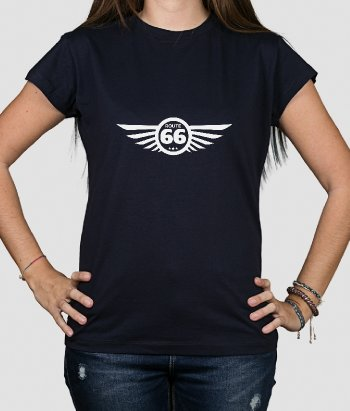 T shirt logo Route 66