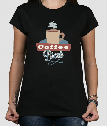 T-shirt coffee break