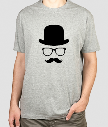 T-shirt attributen gentlemen