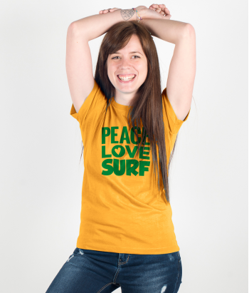 T-shirt Surf Peace Love