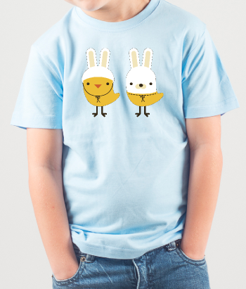Chick and Bunny Children's T-Shirt