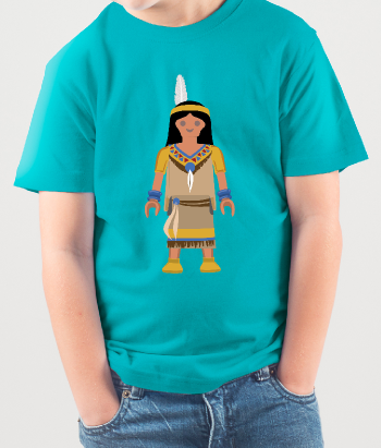 T-shirt Playmobil Indiaan