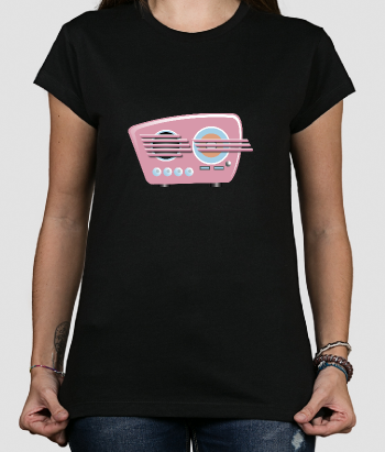 Retro Shirt Vintage Radio
