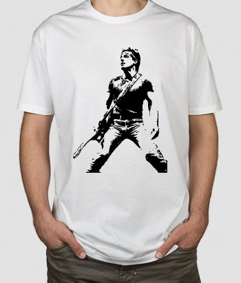 Camiseta Bruce Springsteen retrato