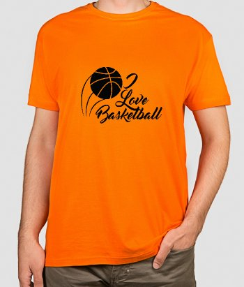 T-shirt Love Basquetebol