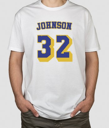 T-Shirt Basketball Magic Johnson