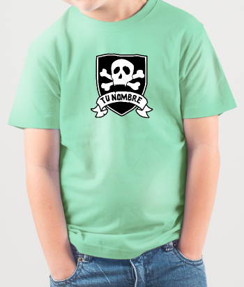 T-shirt personnalisable logo pirate