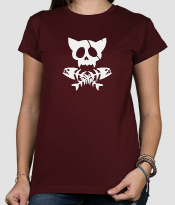T-shirt original chat pirate