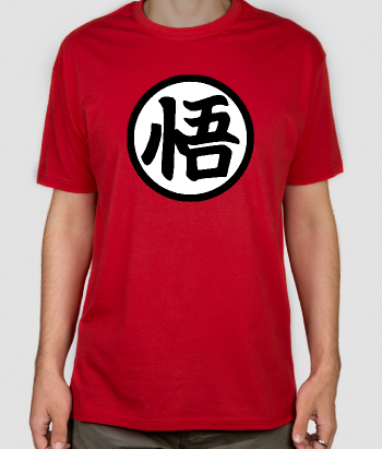 T-shirt Dragon Ball symbool Goku
