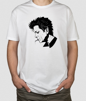 Camiseta Lou Reed retrato