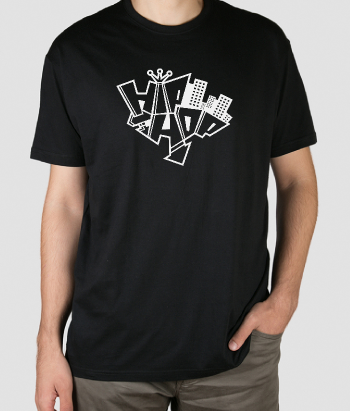 Camiseta hip hop grafitti