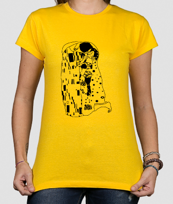 Klimt The Kiss T-Shirt