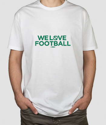 T-shirt We Love Football