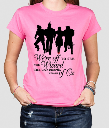 T-shirt film Wizard of Oz