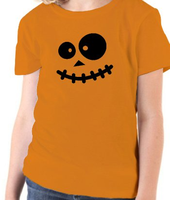 T-shirt Halloween enge Smiley