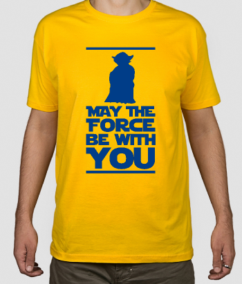 T-shirt Star Wars Force be with you