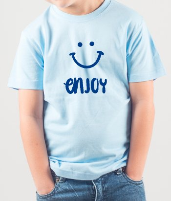 Happy Face Enjoy T-Shirt