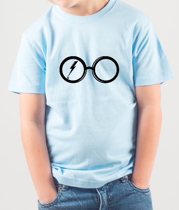 T-shirt occhiali di Harry Potter