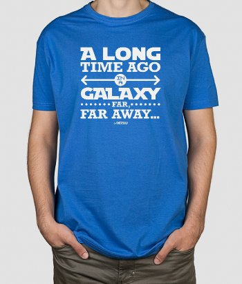 T-shirt Galaxy far away