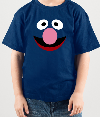 Kinder T-Shirt Krümelmonster