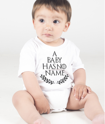T-shirt a baby has no name