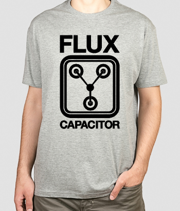 T-shirt film Flux Capacitor