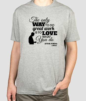 T-shirt Quote Steve Jobs