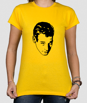 Camiseta cine Retrato Paul Newman