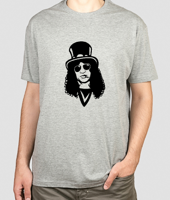 Camiseta música Retrato Slash