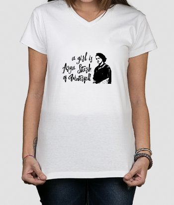 A Girl Is Game of Thrones T-Shirt