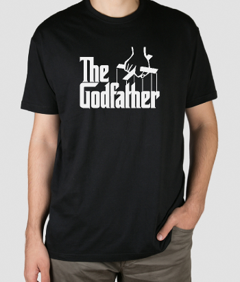 T-shirt film The godfather logo