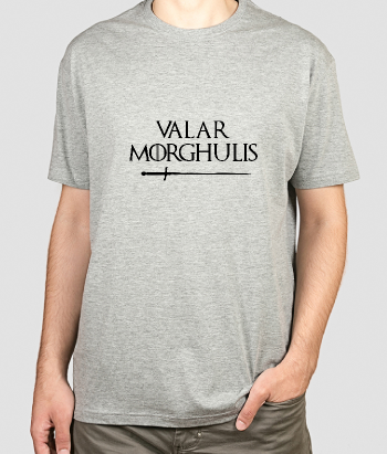 Camiseta Valar Morghulis GOT