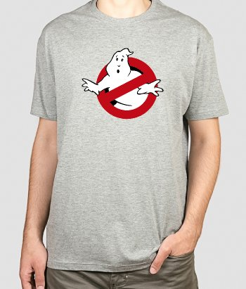 T-shirt logo Ghostbusters