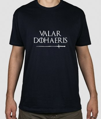T-shirt Valar Dohaeris GOT