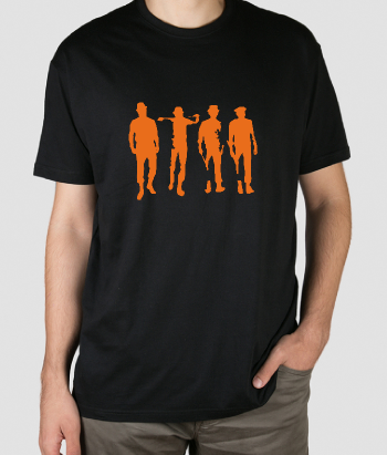 T-shirt film clockwork Orange logo