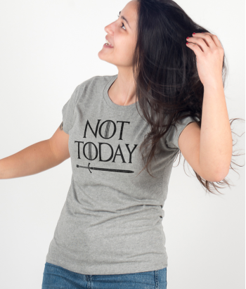 Camiseta series Not today