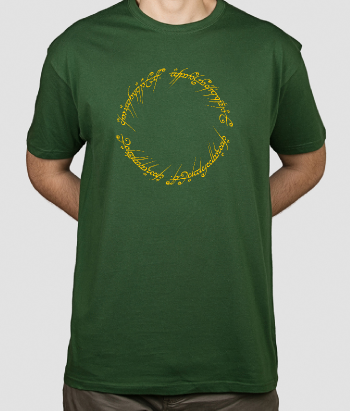 T-shirt film Lord of The Rings