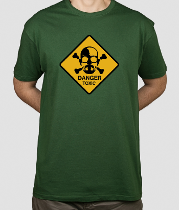 T-shirt Breaking Bad danger